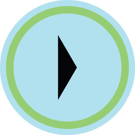 next icon: right arrow vector icon
