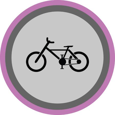 bicicleta vector: bike vector icon