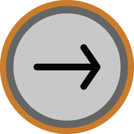 arrow next Illustration
