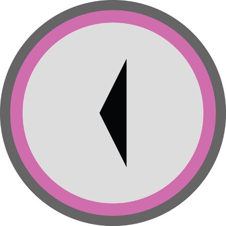 redo: left arrow vector icon