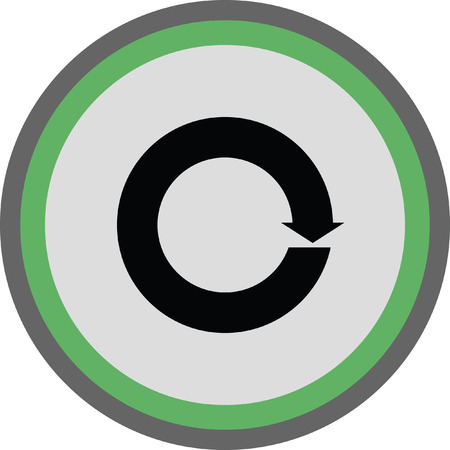 rewind: rotation arrow Illustration