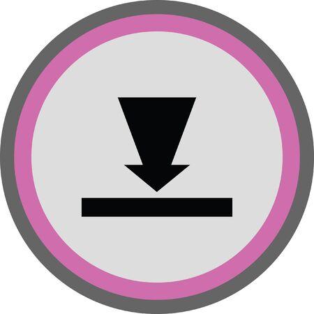 download icon button