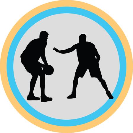 basketball player Stock Vector - 70846563