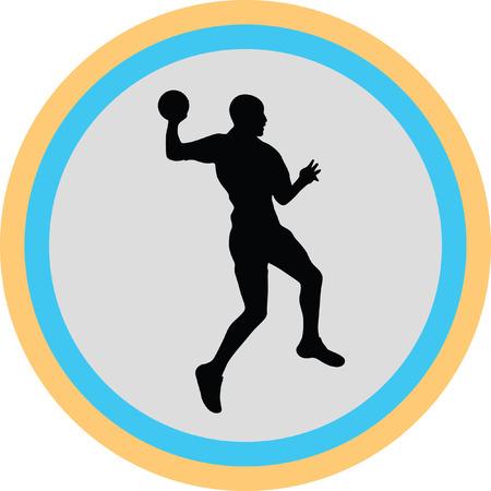 handball: handball Illustration