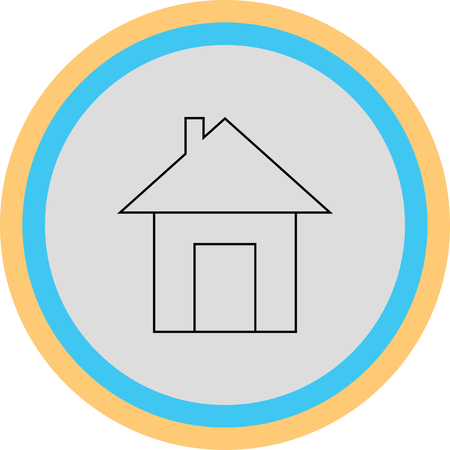 house vector icon Illustration