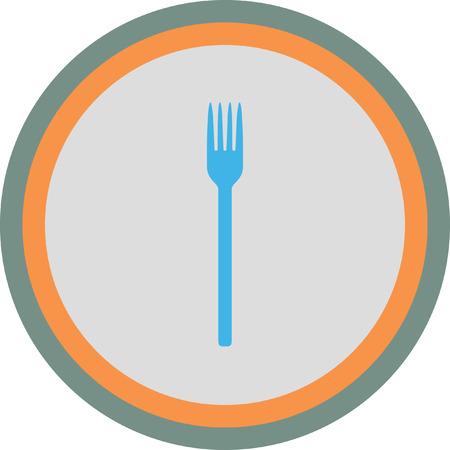 fork icon Illustration
