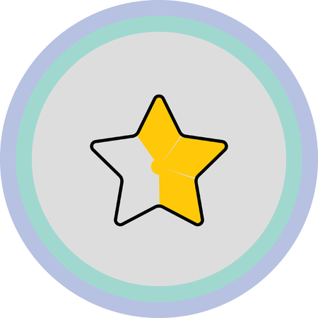 gold star: gold star favorite icon
