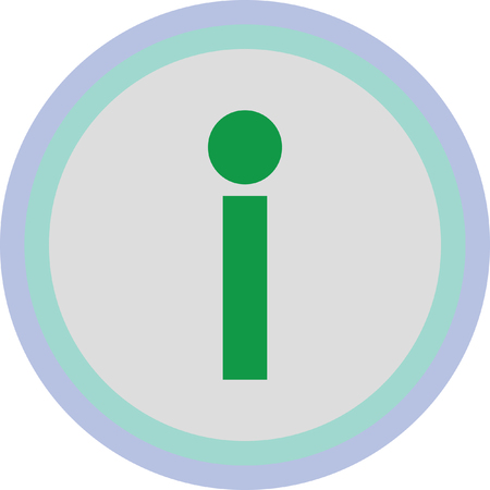 solid: info icon sign Illustration