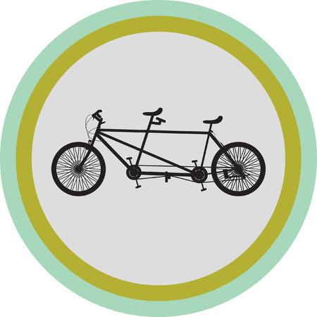 bike silhouette vector