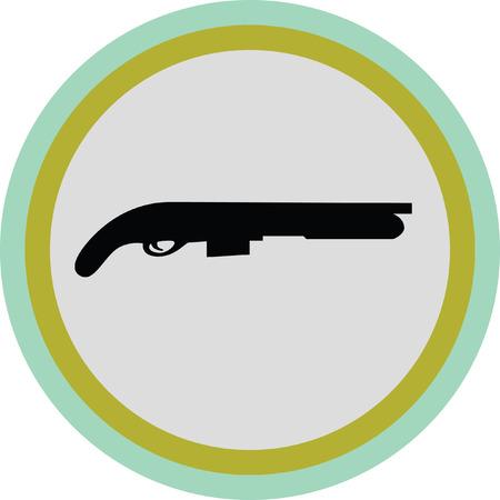 shotgun Illustration