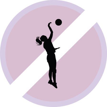 smash: volleyball woman player