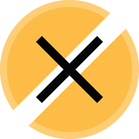 Stop load icon. Illustration