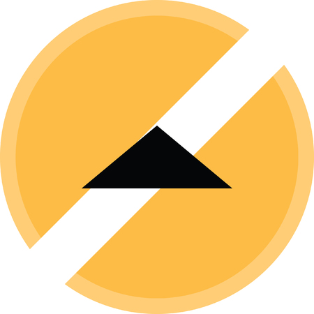 up arrow vector icon Illustration