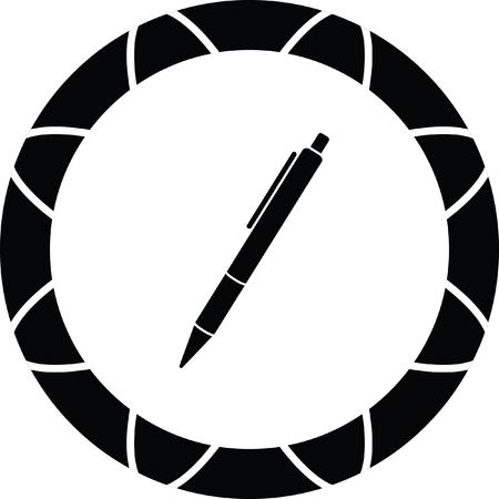 pen sign Illustration