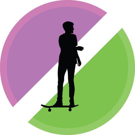 skateboarder Ilustração