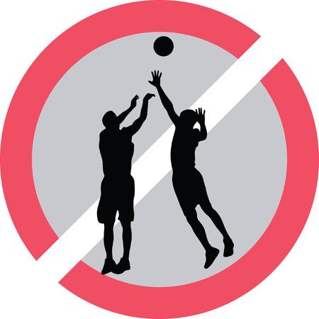 basketball player Stock Vector - 73954597