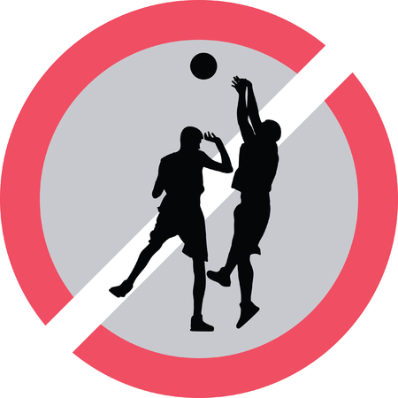 basketball player Stock Vector - 73954609
