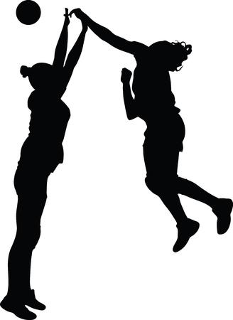 Handball girl player