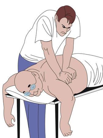 masseur: massage
