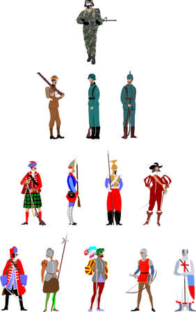 mosquetero: soldado a través de la historia
