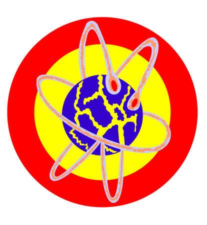 atom core explosion vector file Stock Vector - 3622820