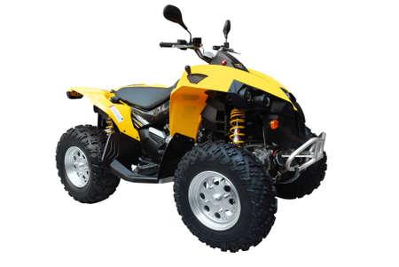 throttle: atv isolated
