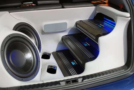 equipo de sonido: sistema de audio para el autom�vil