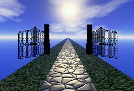 gateway: way to heaven illustration