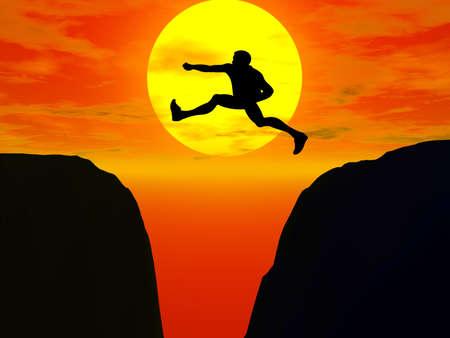 jumper: jumper silhouette illustration