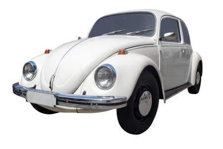 escarabajo: Oldtimer autom�vil aislado