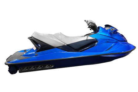personal watercraft: jet ski isolated