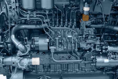 ship engine close detail photo