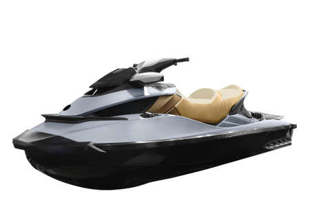 personal watercraft: jet-ski isolated
