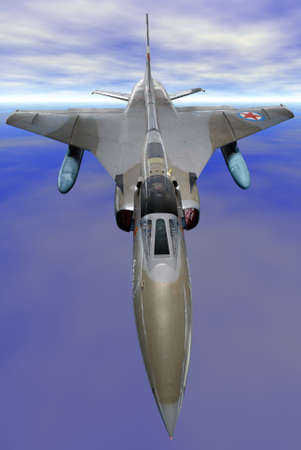 military jet fighter photo