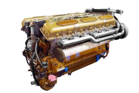 inner cylinder: tank heavy engine isolated Stock Photo