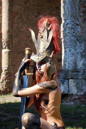 woman warrior photo