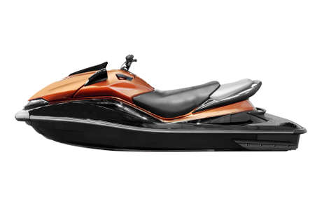 jetski: fast jet-ski isolated