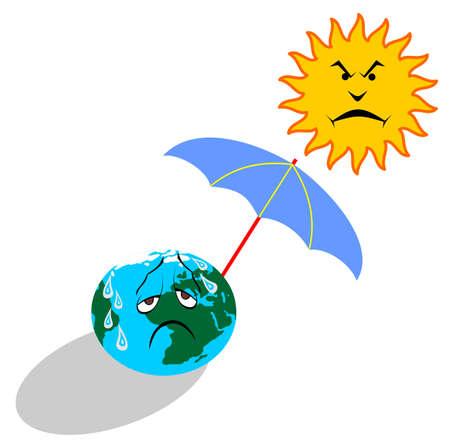 global warming Vector