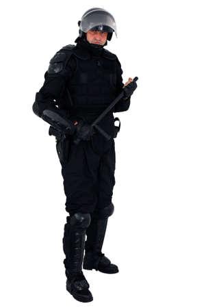 bulletproof: polic�a de disturbios aislado