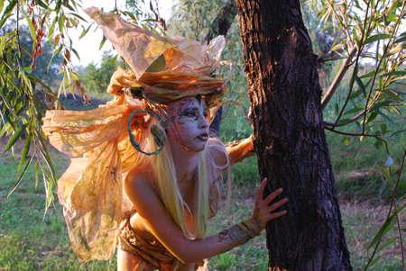 forest fairy girl photo