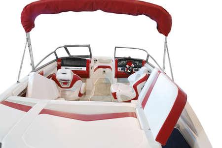 transport interior: luxury boat interior