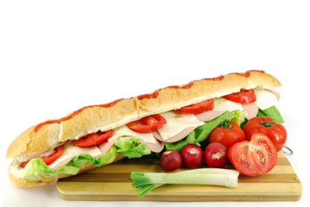 big sub sandwich photo