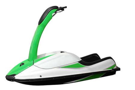 jet ski: jet ski isol�  Banque d'images