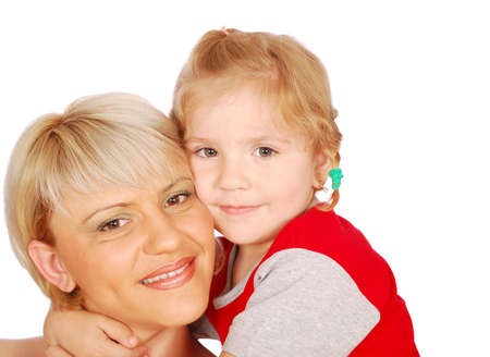 beautiful mother and daughter Stock Photo - 7475540