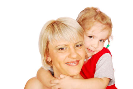 mother and daughter posing Stock Photo - 7526003