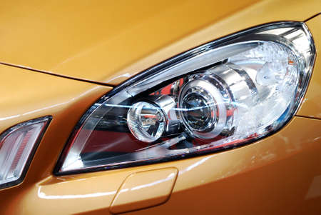 car front light