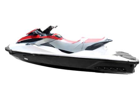 moto acuatica: r�pido jet ski aislado