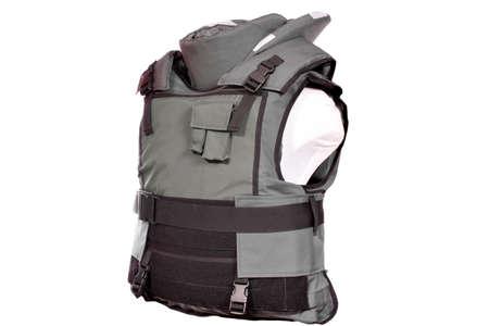 bulletproof: chaleco antibalas pesado aislado