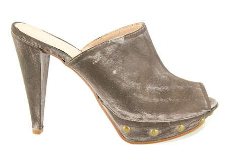 open toe: woman modern open toe shoe