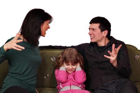 settling: family quarrel